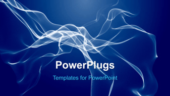PowerPoint Template - Free flowing background